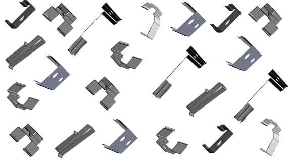 Крепежные элементы и держатели